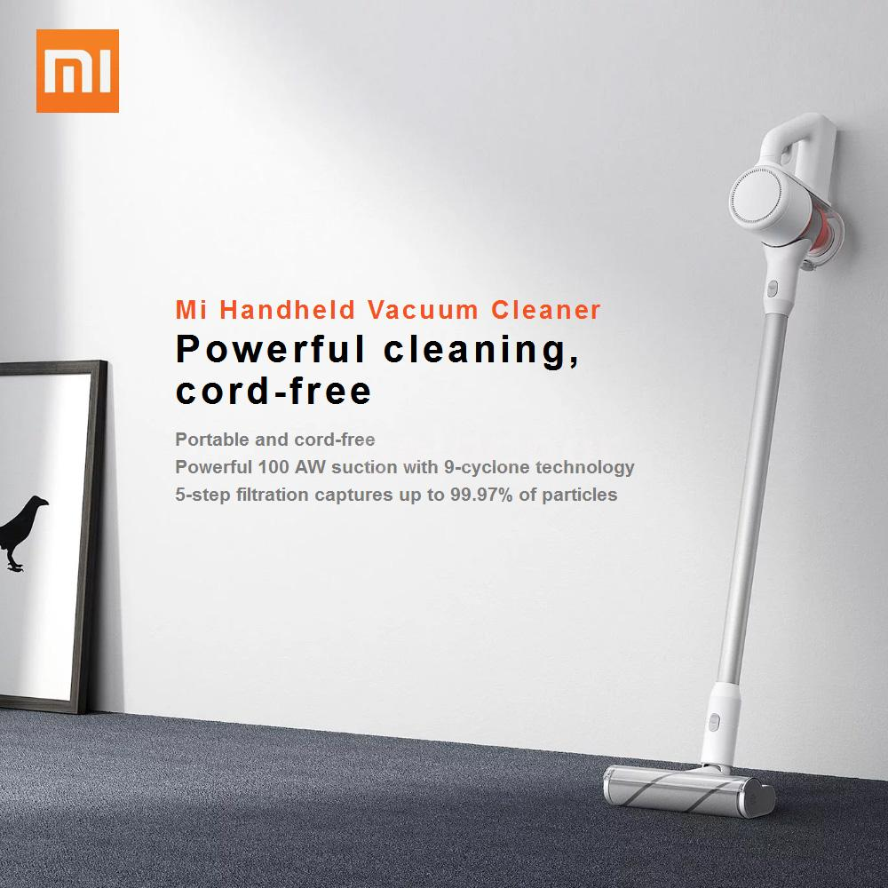 Household hand-held portable vacuum cleaner mini wireless electric small B4F2